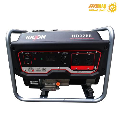 موتور برق بنزینی RIDSON مدل HD3200