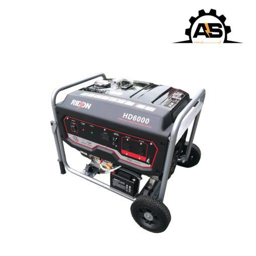 موتور برق بنزینی RIDSON مدل HD6000